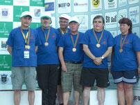 Andrea Reinicke (r.) beim Nationen-Cup