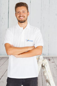 Kevin Gumbrecht, Schienmann-Team, Schienmann Maler, Malerfirma Schienmann, Daimlerstraße 25, Maler & Raumgestalter, Maler in Erlangen, Maler in Bruck