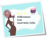 Sweet Baby Table Himmelblau