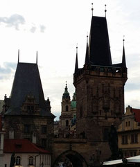 Kleinseitener Brückenturm an der Karlsbrücke, Prag