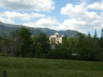 Das Schloss von Bruck