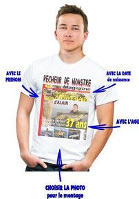 personnalisation tee shirt homme