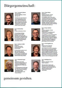 Kommunalwahl Kandidaten 2014-2