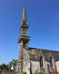 L'église Saint Pierre à Plouyé