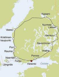 2020: leicht geänderter Routenverlauf, neue Karte folgt