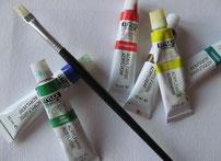 Malen mit Acrylfarben