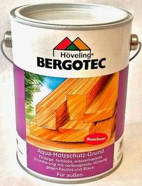 Bergotec Aqua-Holzschutz-Grund zur Behandlung maßhaltiger und nicht maßhaltiger Holzbauteile
