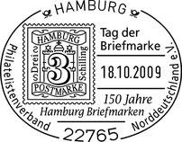 Sonderstempel zum Tag der Briefmarke 2009