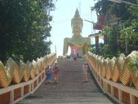 Treppe zu Buddha