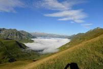 Du Tourmalet au Chiroulet par le Lac Bleu