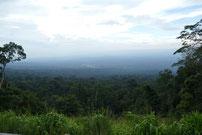 View over Khao Yai NP, Nakhon Ratchasima province Thailand
