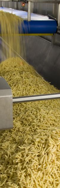 Tiefkühlproduktion - frozen food production - production des surgelés