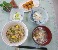秋の家庭料理