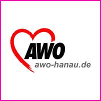 "Logo AWO Stadtverband Hanau e.V. – Federführender Kooperationspartner Jugendfilmfestival ""Jung & Abgedreht"""