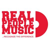Logo des Real People Music labels, das sich auf Reggae, Dancehall und jamaikanische Musik spezialisiert hat.