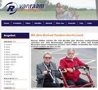 Van Raam berichtet über Dreirad-Touren entlang der Via Regia
