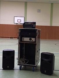 Medienanlage Turnhalle