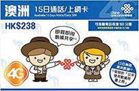 台湾China Unicom データ通信プリペイドSIMカード 日本で購入