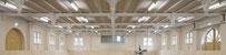 11/2019 Alte Reithalle Marbach Abschluss der Sanierungsarbeiten