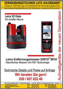 Aktion Vermessungsgeräte und Baulaser Berlin und Brandenburg