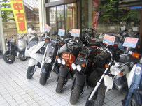 サイクルスポーツ加藤 店頭 中古バイク 写真
