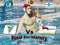 Finale Euro Cup 2019 : CNMarseille Vs Jadran Hercerg Novi