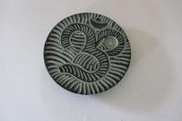 Bild Suchmaschinenoptimierung SEO Räucherstäbchenhalter Stein Holz Metall Symbole Mond OM Ganesha