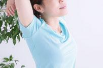 腰痛・肩こりがスッキリした女性