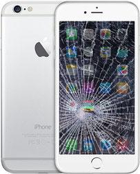 Centro Riparazione iPhone Firenze Via Gabriele D'Annunzio 72 Sostituzion vetro Schermo rotto  iPhone 6 Plus , (fuori garanzia) Con ricambio ORIGINALE,Genius Premium,Garantito con 90 giorni di garanzia.