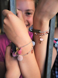 Teenagergeburtstag Düsseldorf Schmuck Workshop Armbänder