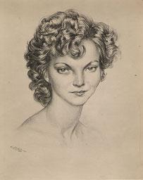 Marie Thérèse Boudousquie Bilis sa belle fille 1949
