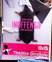 théâtre, Jérôme Rouger, Théâtre Girasole Avignon, festival off