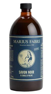 Marius Fabre - Savon Noire. Die Schwarze Seife der französischen Seifernmanufaktur Fabre besteht zu 100 % aus Olivenöl und ist ein perfektes biologisches Mittel gegen Blattläuse und andere Schadinsekten: www-the-golden-rabbit.de