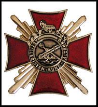 Ehrenzeichen in Gold Artilleristenbund Salzburg