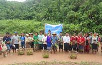 Village de Mokhong, district de La, province d'Oudomxay