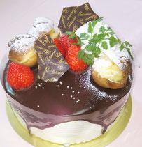 ショコラフレーズ プチシュー飾り 南区 フランス菓子 フロランタン