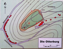Ehemalige Otterburg auf dem Schlossberg