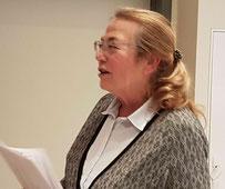 Vorsitzende Ilse Faltermeier berichtet