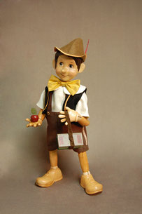 "17"" Pinocchio Off To School"