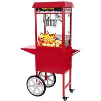 te huur popcornmachine zelf popcorn maken popcornkar popcornwagen