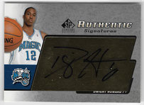 DWIGHT HOWARD / Authentic Signatures - No. AS-DH