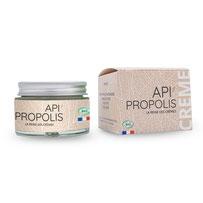 Crème de soin visage à la propolis, côté nature 83, toulon