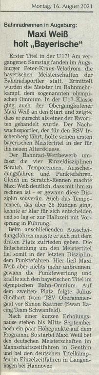 Quelle: Landshuter Zeitung 16.08.2021
