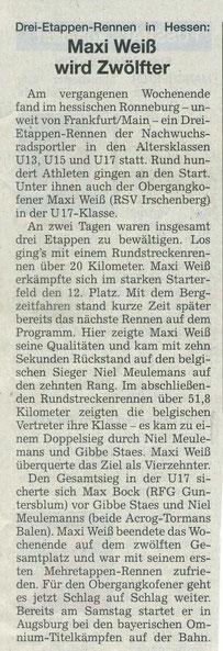 Quelle: Landshuter Zeitung 11.08.2021