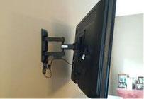 Fernseher Montage