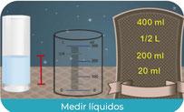 Medir líquidos