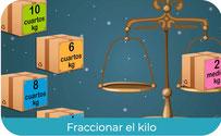 Fracciones de kilo