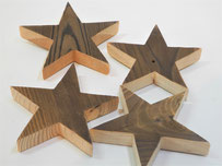 --STELLA-- Sterne aus Restholz