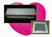 換気機能エアコン・換気扇