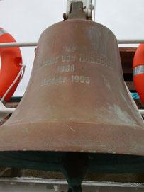 """Schiffsglocke der """"Alexander von Humboldt"""""""
